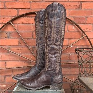 OLD GRINGO NEW Mayra Razz Chocolate Knee High Boot